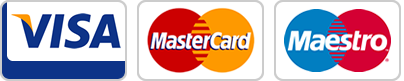 Major payment cards accepted